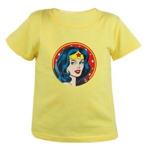 6eb45f5d2 Cool Wonder Woman Kids Child's Cotton T-Shirts Girls Boys Graphic ...