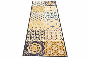 Viva-New-Murrine-Madeira-Rug-Blue-Beige-Yellow-100-Polyamid-57W-x-180Lcm
