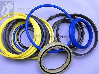 Seal Kit 4 JCB 1550B Backhoe Bucket Hydraulic Cylinder
