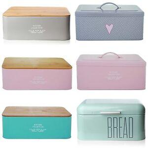 Image Is Loading Bread Holder Bin Box Vintage Design Home Kitchen