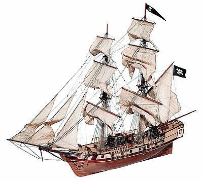 OcCre CORSAIR Wood Model Ship Kit.
