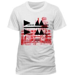 90d2e162b26 Details about Depeche Mode - Delta - Official Men s White T-Shirt