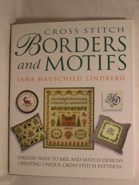 Cross Stitch Borders and Motifs, Lindberg, Jana Hauschild, Excellent Book