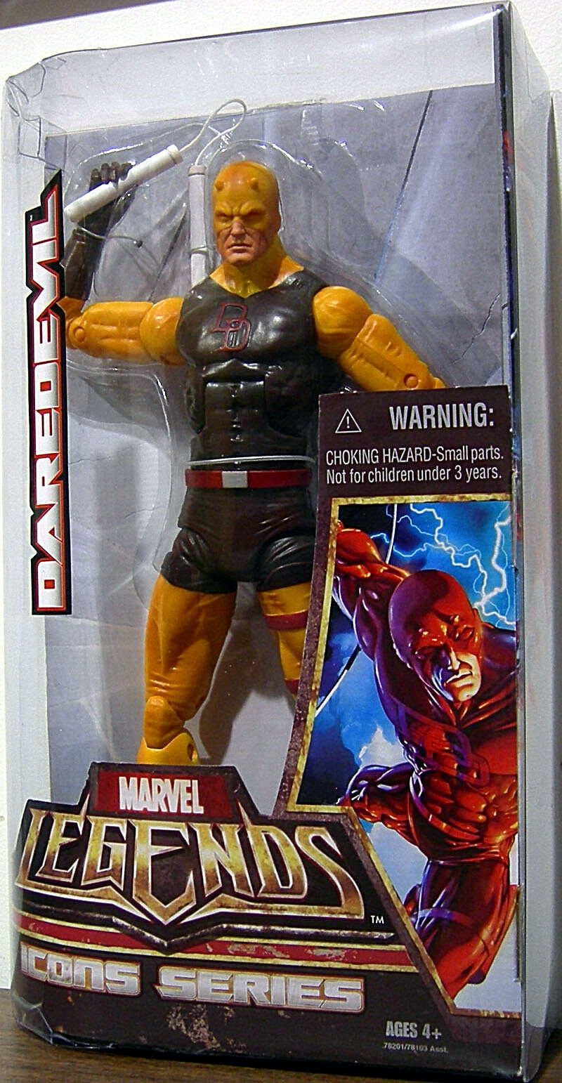 MARVEL LEGENDS ICONS Series Collection_YELLOW DAREDEVIL 12   figure_New_Unopened