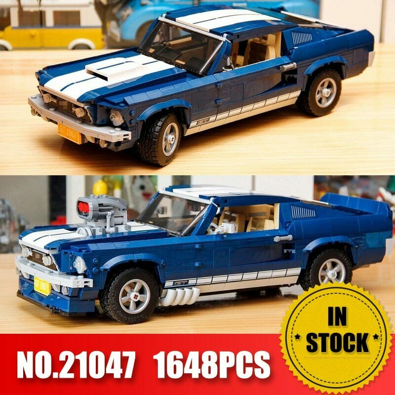 Forded Mustanged 21047 Creator Expert Compatible Building Blocks Car Bricks Toys