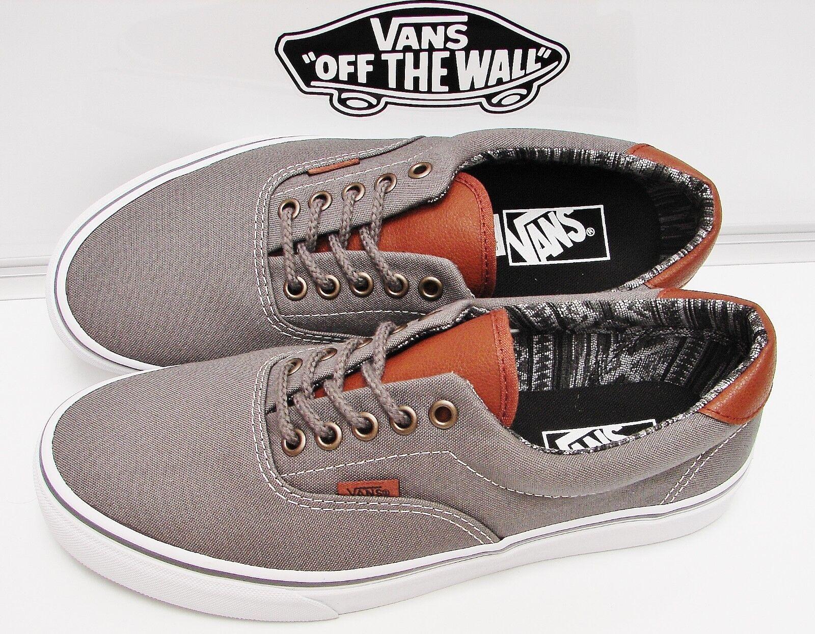 Vans Era 59 (C&L)Pewter Italian Italian Italian Weave VN-0A3458LW9 Men's Size 7 8cc33f