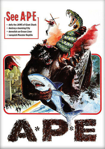 Ape (1976 Joanna Kerns) (A*P*E) DVD NEW