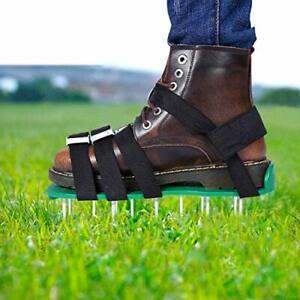 Sandales Aérateur Pelouse Rouleau de Pelouse Chaussure à Gazon Chaussure à Gazon