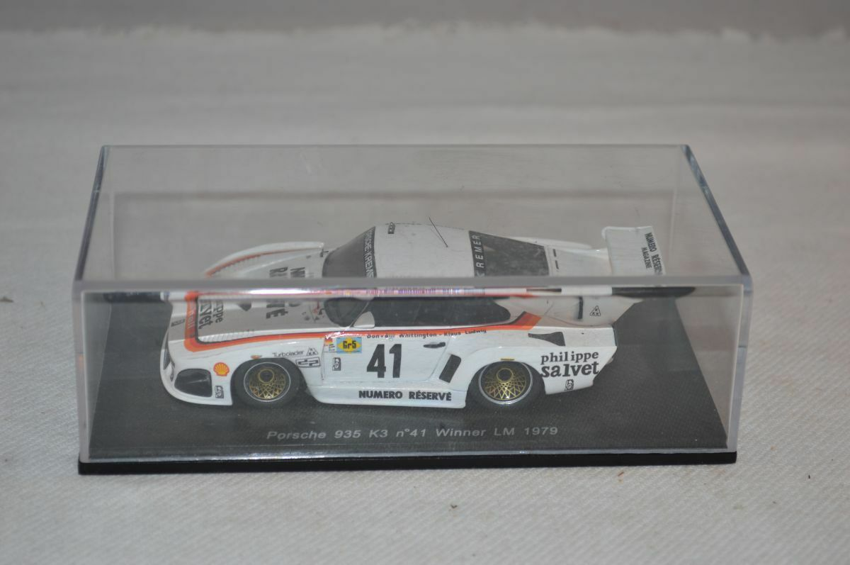 Spark Porsche 935 K3 n°41 Winner LM 1979 blanc 1 43 blanc mint in box OVP