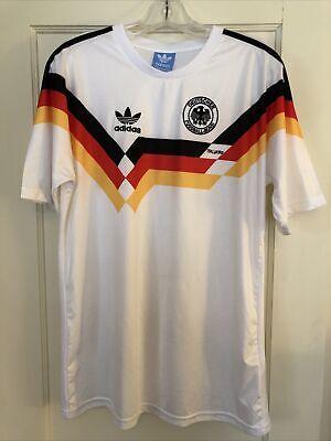 Adidas Alemania Fútbol Jersey para hombre XL Deutscher Fútbol Bund ...