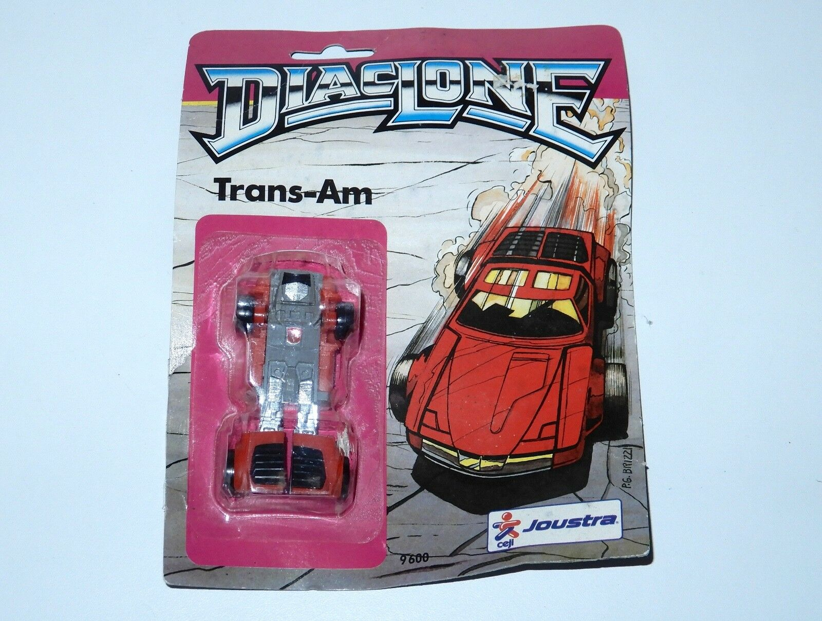 TRANSFORMERS DIACLONE TRANS-AM WINDCHARGER PRE-RUB MOC 1980s JOUSTRA FRANCE G1 G1 G1 9aadeb