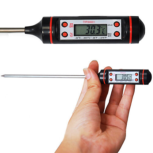 Useful Hot Meat Thermometer Kitchen Digital Cooking Food Probe Electronic BBQ