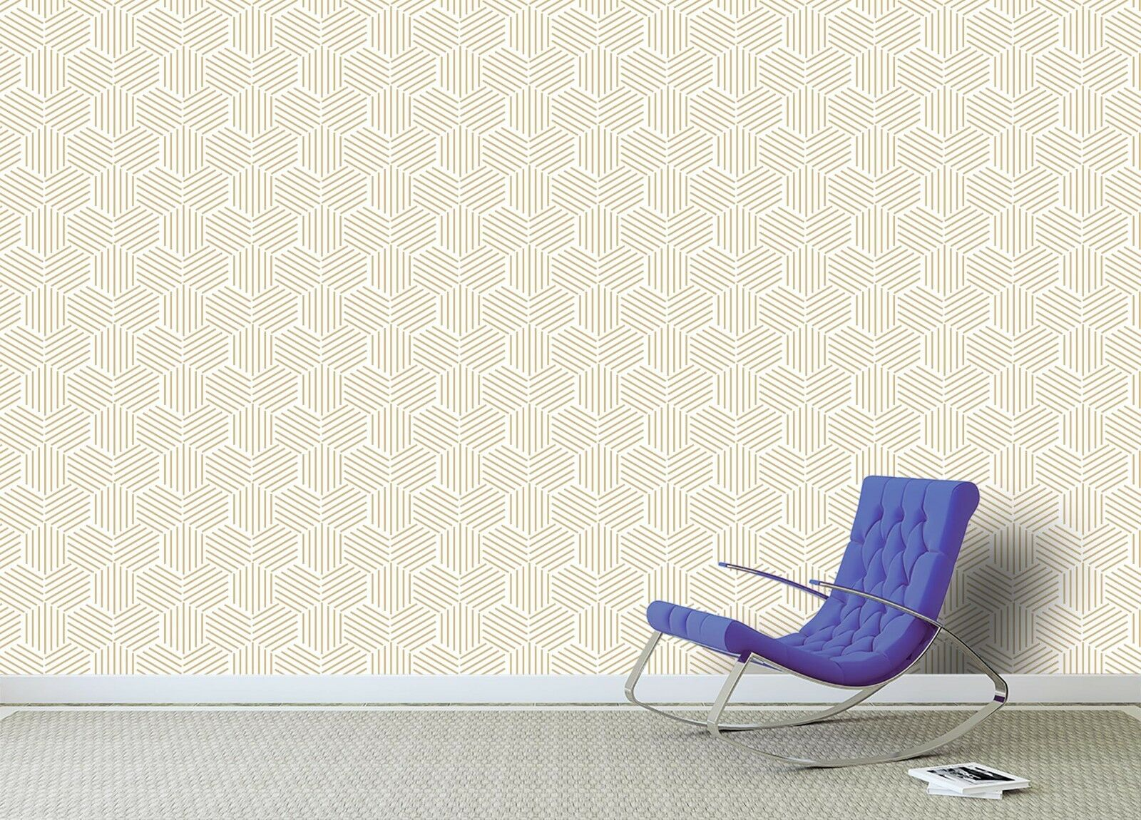 3D Line Pattern 718 Wall Paper Print Wall Decal Deco Indoor Wall Murals US