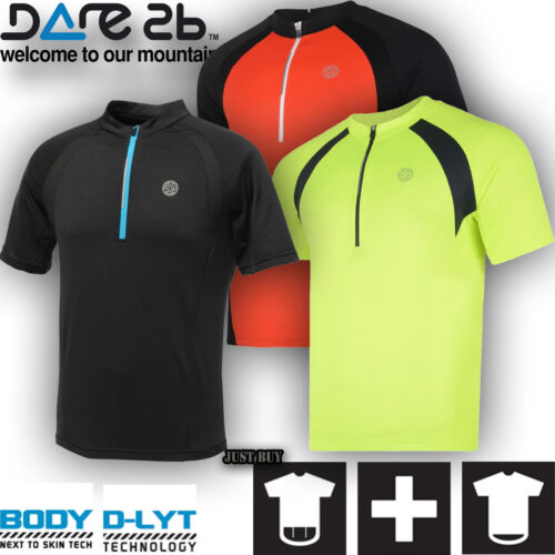 Dare2b T Shirt Active Tee Magnetize Jersey Outdoor Gym Sport Running Cycling Top