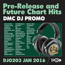 DMC DJ Only 203 Promo Chart Music Disc for DJ's - Double CD