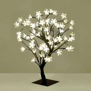 Modern warm white led bonsai tree with 72 led fairy twig lights image is loading modern warm white led bonsai tree with 72 mozeypictures Image collections