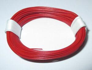 1m-17-9-CT-Tres-Souple-Orange-Toron-0-04-MM-Rouge-10m-Anneau-gt-Nouveau
