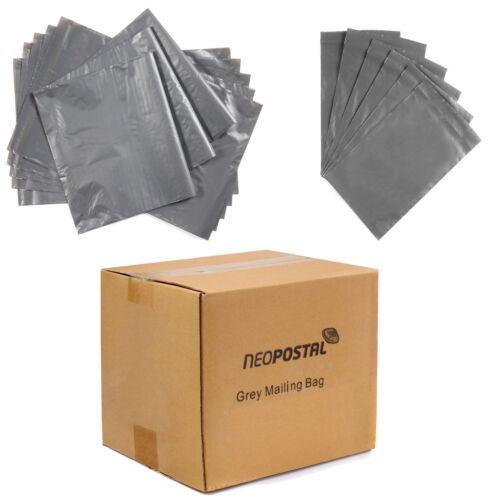 Forte Grigio plastica mailing borse affrancatura Postale Poly con guarnizione di auto tutte le taglie