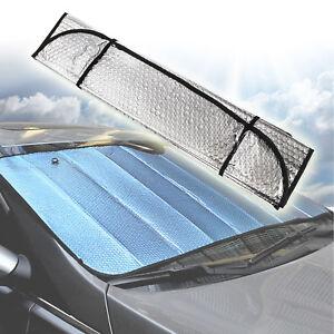 127 pliable parasol pare soleil laser pour pare brise de voiture visi re ebay. Black Bedroom Furniture Sets. Home Design Ideas
