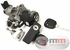 Toyota Avensis T25 Facelift Schlüssel Schloss Satz Funkschlüssel + Schlösser