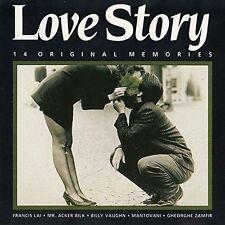 Love Story-14 orig. Memories Francis Lai, Mr. Acker Bilk, Billy Vaughn, M.. [CD]