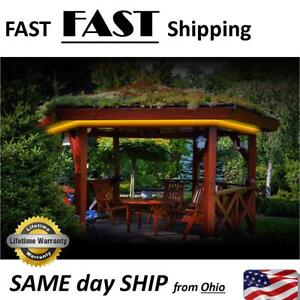 Details About Gazebo Lighting Kit East Connection Diy Color Select With Remote Control