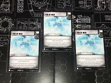 Fog of War R 033 Set of 3 Transformers Trading Card Game Battle Cards