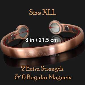 Image Is Loading L Mens Magnetic Bracelet Pain Relief Therapy