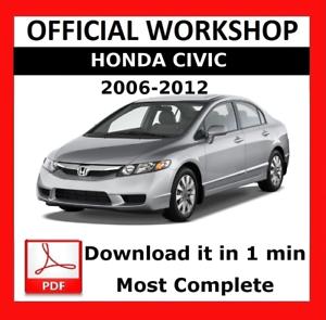 2001 2005 Honda Civic Repair Shop Manual Original