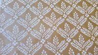 Brunschwig Venezia Parma Fortuny Style Small Damask Gold Off White 2 3/8 Yards