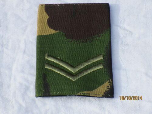 British Army Unique Piece CPL Rank Loop Dpm Corporal