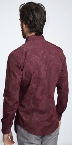 Mish Mash Lyall Wine Shirt £19.99 rrp £50