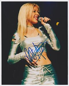 Christina-Aguilera-HAND-Signed-8x10-Photo-Autograph-Dirrty-The-Voice-Within