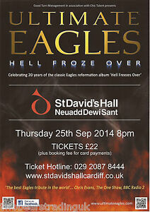 image is loading event promo flyer ultimate eagles hell froze over