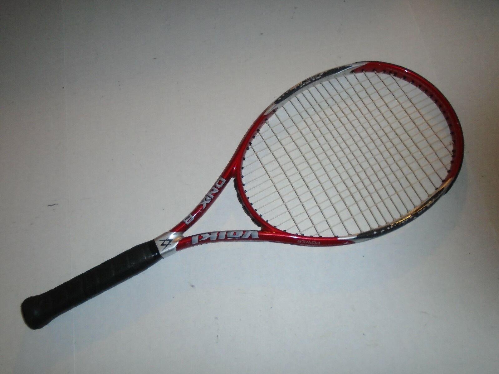 Volkl Dnx 8 tenis raqueta de Energía Genética.  4 1 2.  bienvenido a comprar