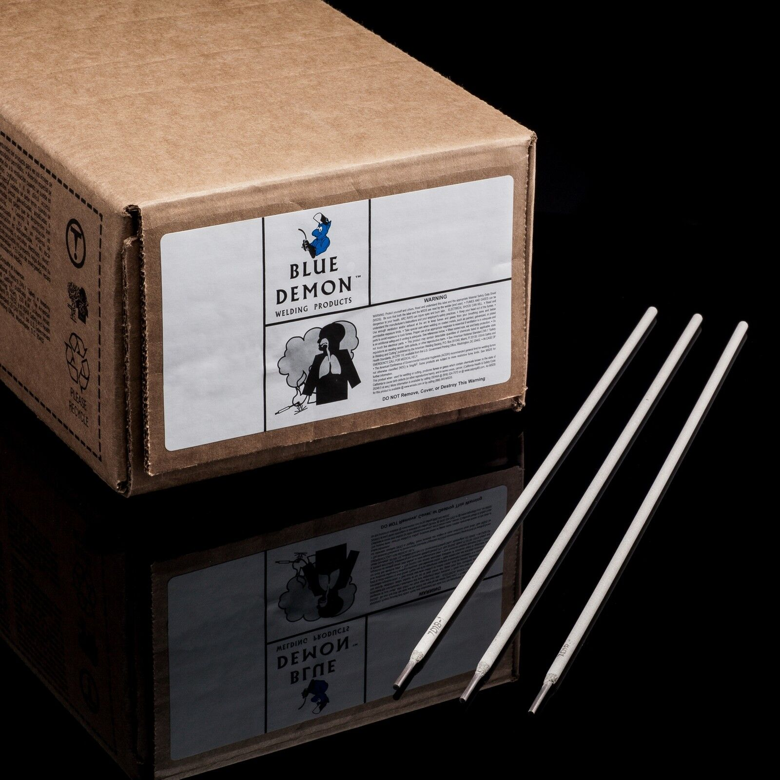 Blue Demon 7018 X 3//32 X 14 X 50LB Can Low Hydrogen Carbon Steel Electrode