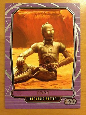 Star Wars 2012 Galactic Files 2 #418 C-3PO Geonosis Battle NrMint-Mint