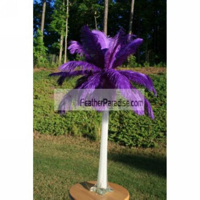 lila lila lila Ostrich Feather Centerpieces 6 Sets ( GA, USA) 3cace9