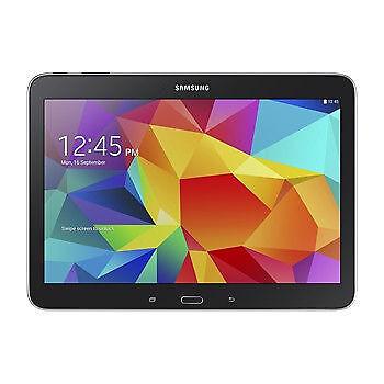 Samsung Galaxy Tab 4 SM-T530 16G, Wi-Fi 10.1in Black Bundle see description