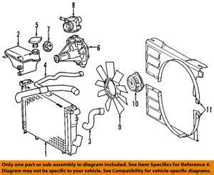 image is loading mercedes-oem-94-95-e420-engine-coolant-thermostat-