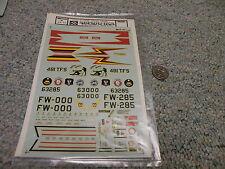 Microscale  decals 1/48 48-80 USAF F-100D Super Sabre      FFF
