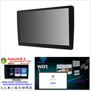 9-034-Android-8-1-Bluetooth-Wifi-Car-GPS-Stereo-Radio-MP5-Player-Quad-Core-1-16G