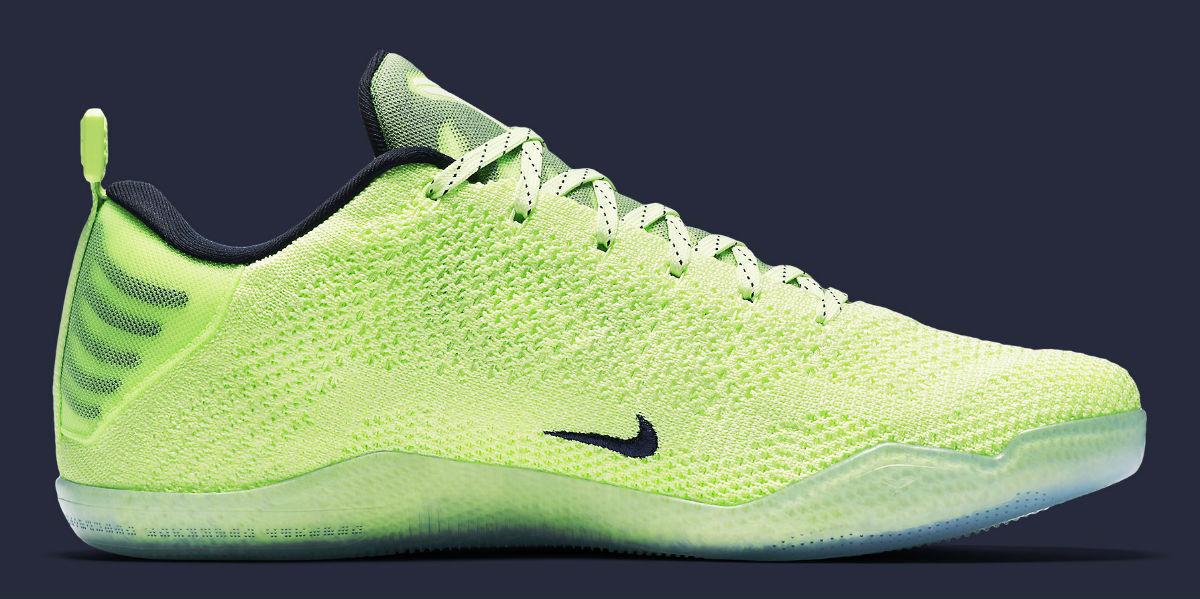 Nike Kobe XI Elite baja 4KB 824463-334 sneakers Liquid Lime Dark Obsidian sneakers 824463-334 de hombre nuevos zapatos para hombres y mujeres, el limitado tiempo de descuento 0a9c30