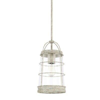Capital Lighting Beaufort 1 Light 8 Pendant Mystic Sand 327411ms 841740127493 Ebay