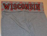 Victoria's Secret Pink University Of Wisconsin Badgers Yoga Pant Xs
