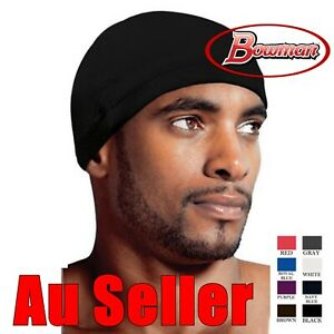 Image is loading Spandex-Dome-Cap-Helmet-Chef-Sports-Biker-FootBall- 329fbd336639