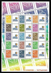 Feuillet-Timbres-Personnalises-2006-N-F3925A-Marianne-de-Lamouche-Cote-50