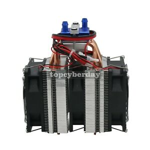 Details About Thermoelectric Cooler Water Chiller Diy Cooling System For 40l Fish Tank Dc 12v