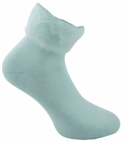 3 Pairs Ladies Mint Co-zees Insulated Acrylic Thermal Bed Socks UK Size 4-8