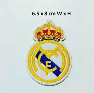 Real-Madrid-Football-Sports-Embroidered-Iron-on-Sew-On-Patch-Badge-Jacket-Jeans
